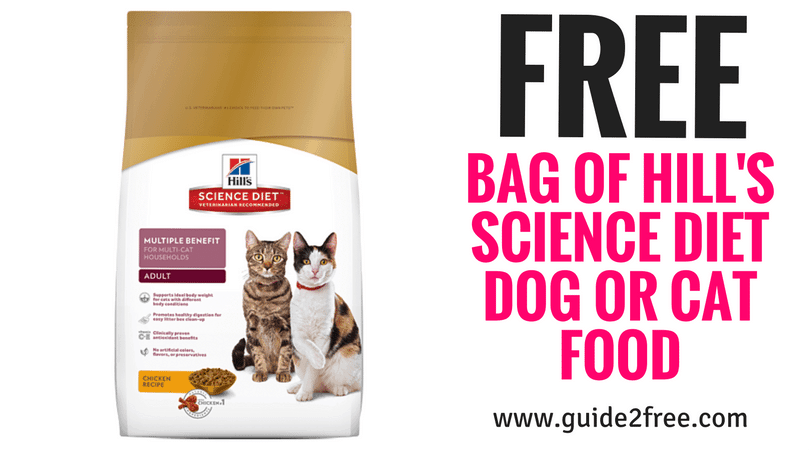 Hills Prescription Diet Coupons >> Free Bag Of Hill S Science Diet Dog Or Cat Food At Petsmart