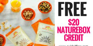 FREE $20 Naturebox Credit