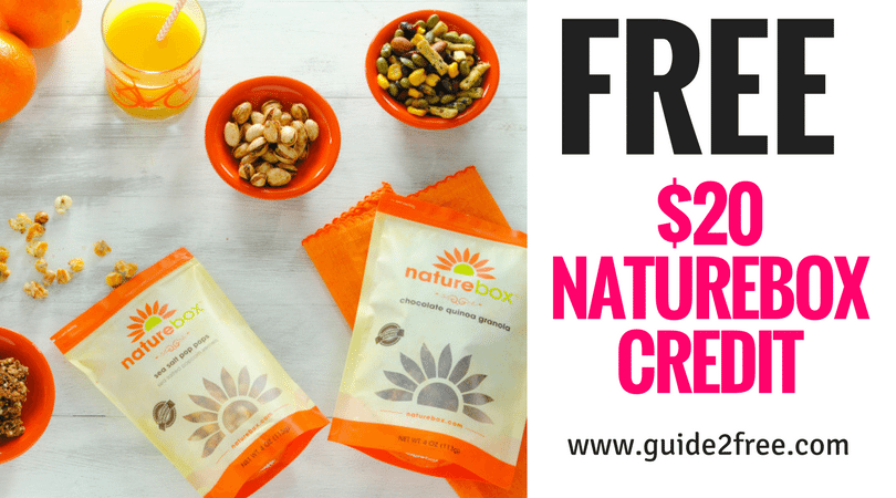 FREE $20 Naturebox Credit