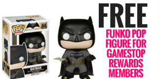 Funko Pop Figure for Gamestop Rewards Members