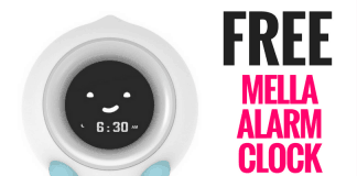 FREE Little Hippo Mella Alarm Clock