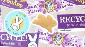 FREE Bunny Sticker from Annie's