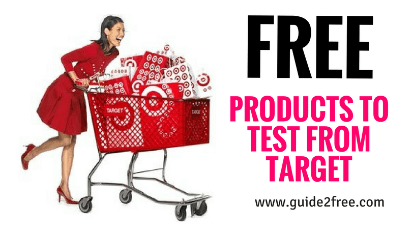 Get FREE Products to Test from Target • Guide2Free Samples