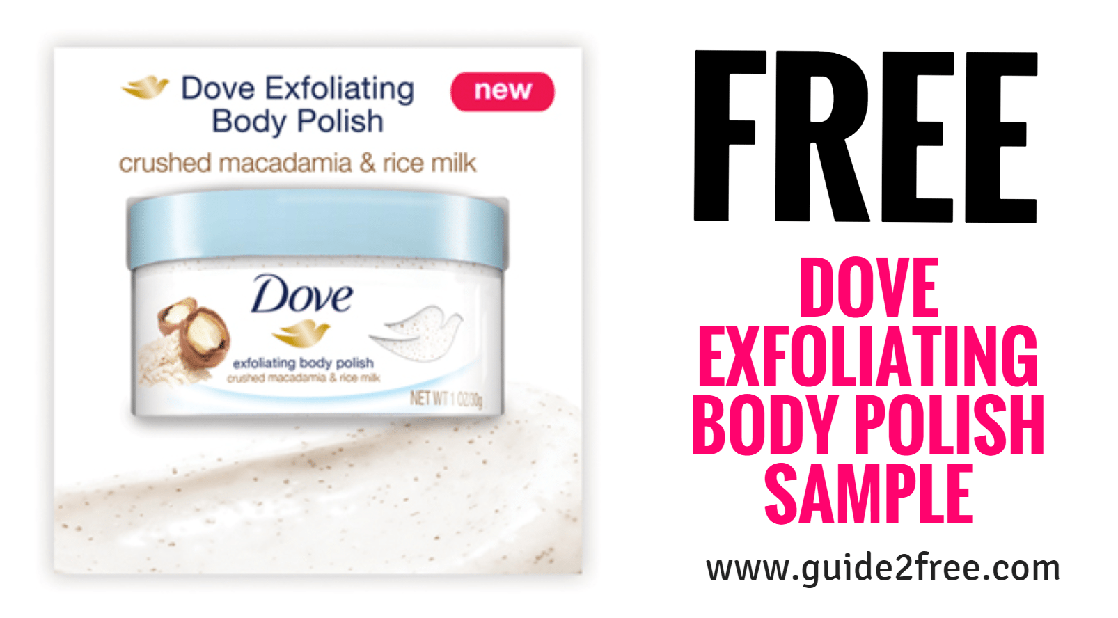 Free Dove Exfoliating Body Polish Sample Guide2free Samples