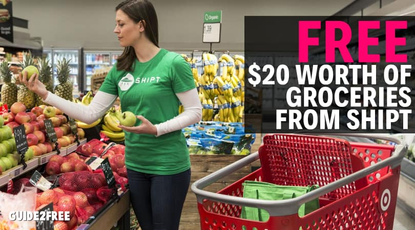 FREE $20 Worth of Groceries from Shipt • Guide2Free Samples