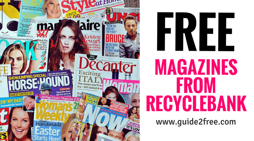 FREE Magazines from Recyclebank • Guide2Free Samples