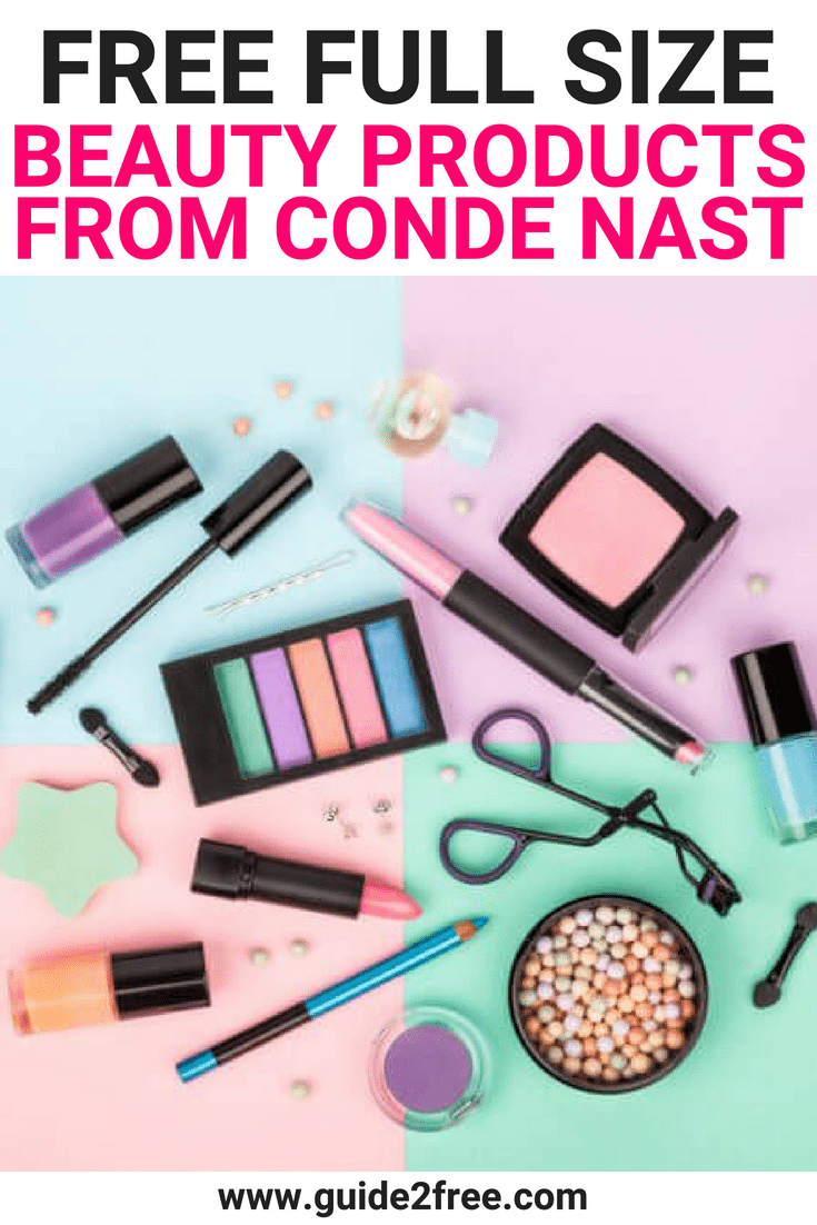 FREE Full Size Beauty Products from Conde Nast
