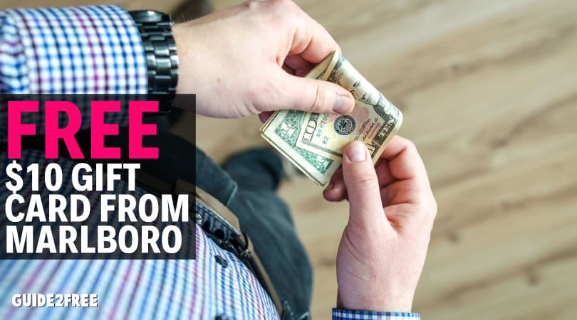 FREE $10 Amazon Gift Card from Marlboro • Guide2Free Samples