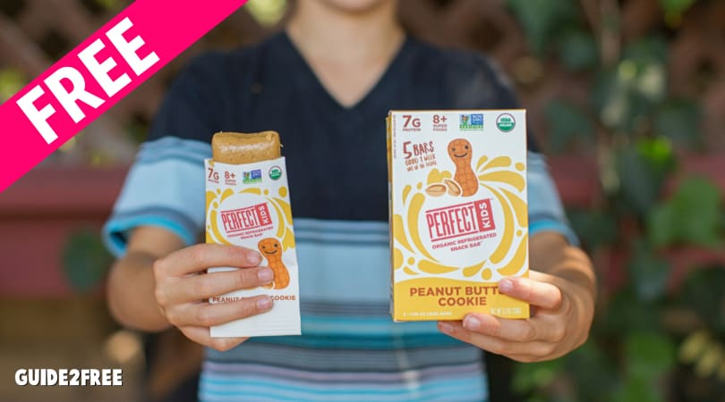 2 FREE Boxes of Perfect Kids Snack Bars