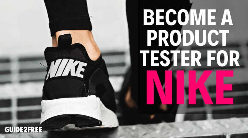 grieta Panorama despensa  Sign up to be a Nike Product Tester • Guide2Free Samples