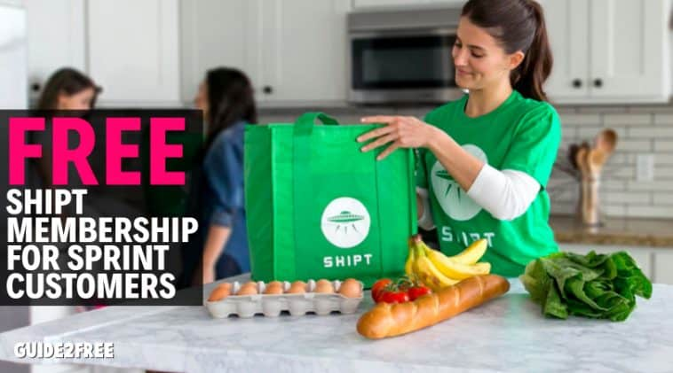 FREE 3 Month Shipt Grocery Delivery for Sprint Customers