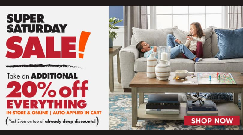 Big Lots: 20% off Your Entire Purchase