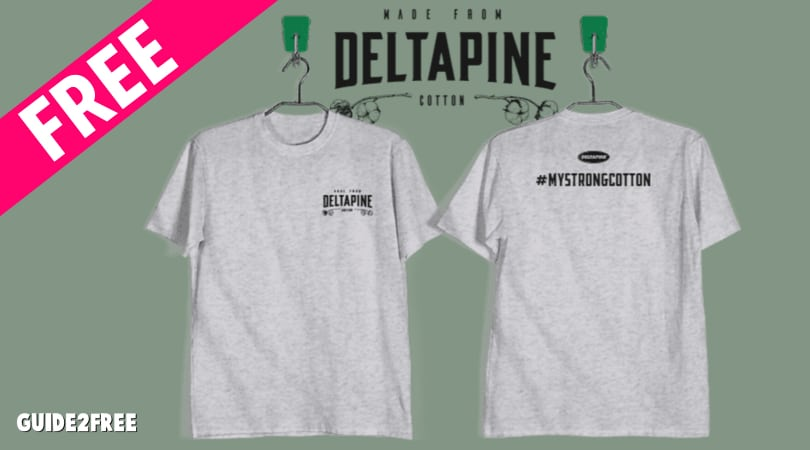 FREE Deltapine Select Cotton T Shirt