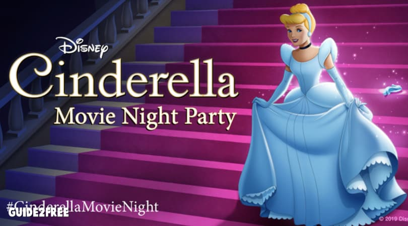 FREE Cinderella Movie Night Party