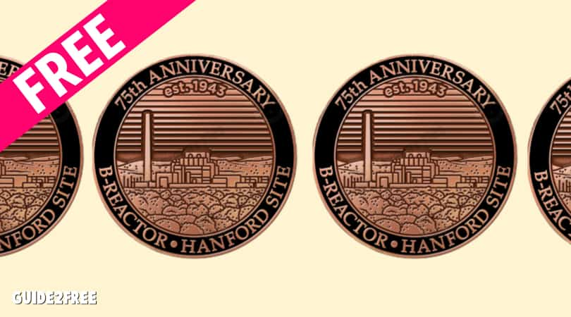 FREE Hanford B-Reactor Commemorative Pin