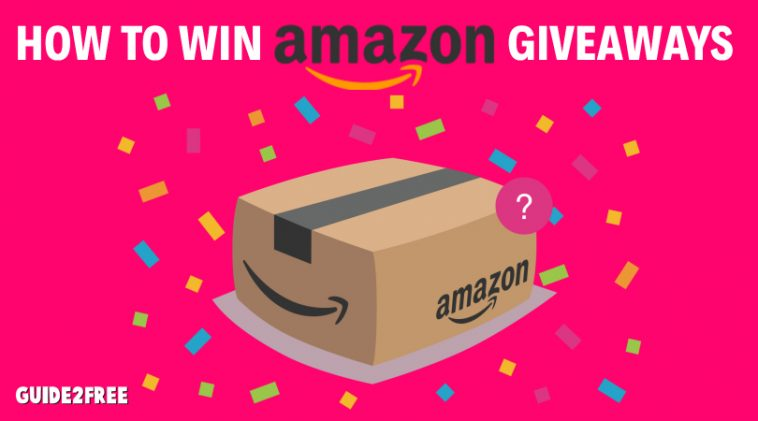 not winning amazon giveaways anymore
