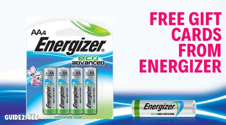 Energizer Idea Lab: FREE Gift Cards for Your Opinion