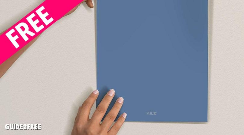 FREE Kilz Peel & Stick Paint Samples