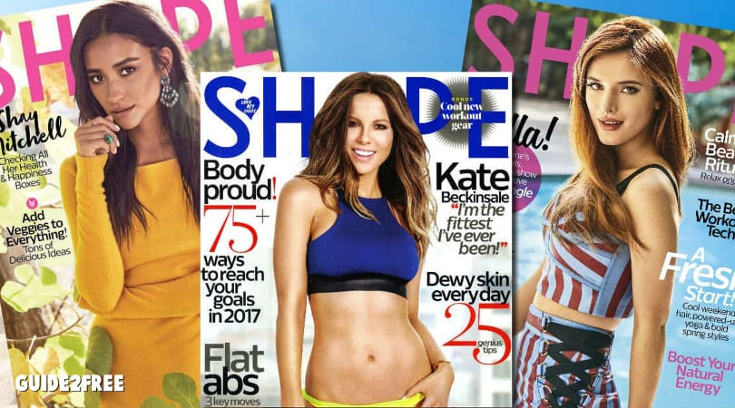 free Shape Magazine.