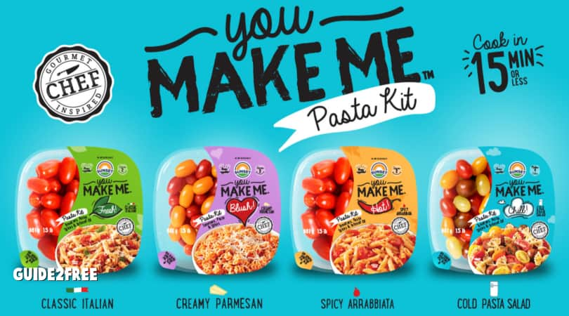 FREE You Make Me Pasta Kit