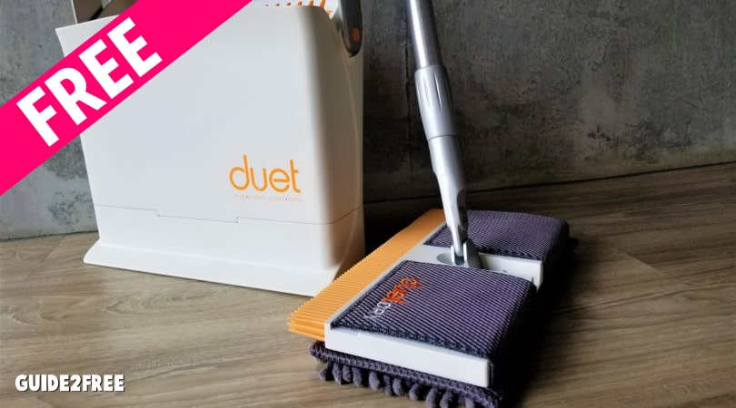 FREE Duet All in One Floor Cleaning System