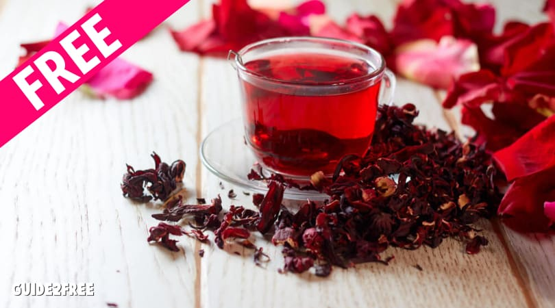 FREE Hibiscus Extract, Flakes, or Powder Samples