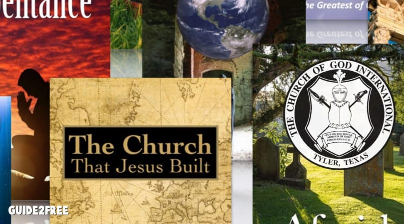 FREE Religious Books and CDs from The Church of God International