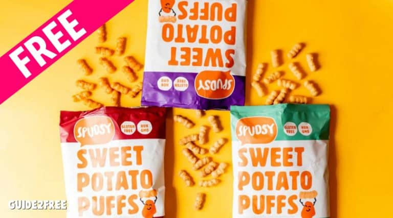 FREE Spudsy Sweet Potato Puffs Sample