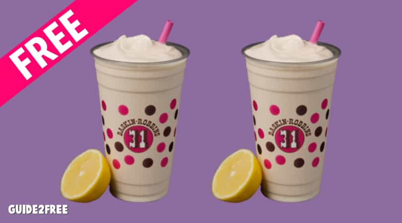 FREE Stranger Things Elevenade Freeze Samples at Baskin Robbins