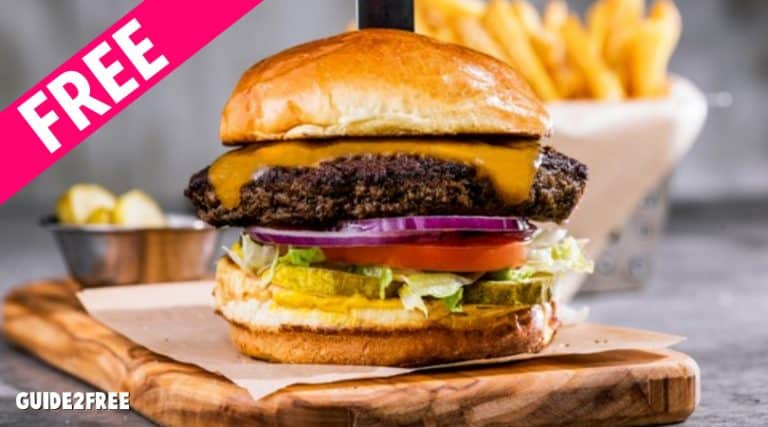 FREE Chili's Old Timer Burger with $10 DoorDash Order