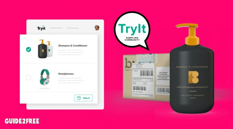 FREE Product Testing from the Try it! Sampling Community