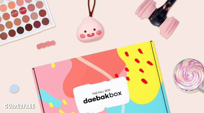 FREE DaebakBox K Lifestyle Goodies
