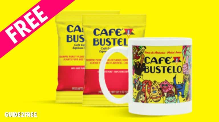 FREE Cafe Bustelo Mug and Samples for Office Workers