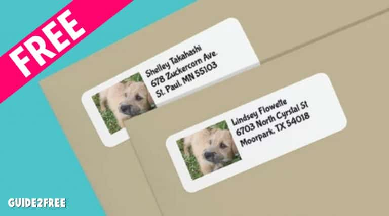 FREE Address Labels From The Humane Society