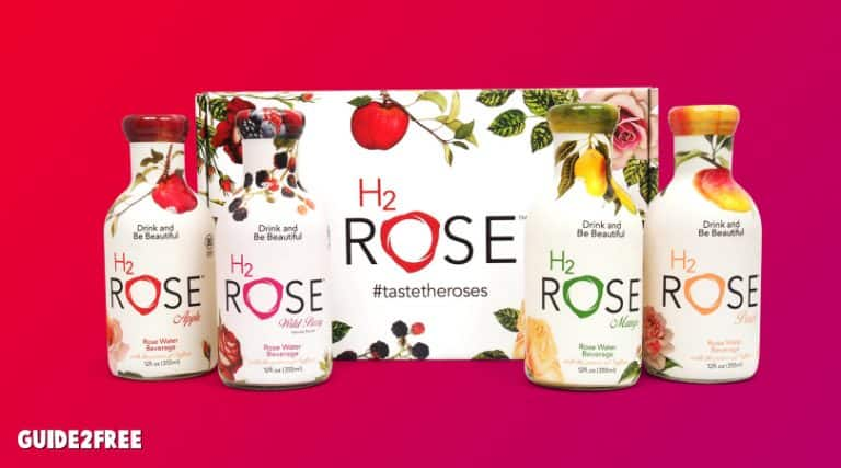 FREE H2Rose Rose Water Beverage