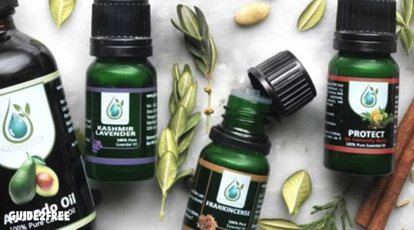 8 FREE Bottles of Essential Oils