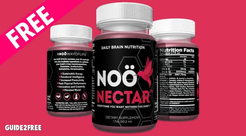 FREE 30-Pack Supply of NOÖ NECTAR