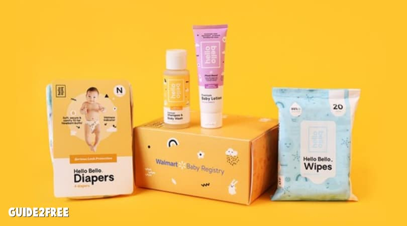 FREE Baby Samples Box from Walmart