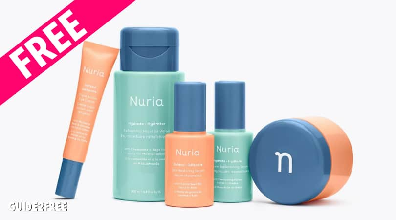 FREE Nuria Beauty Samples