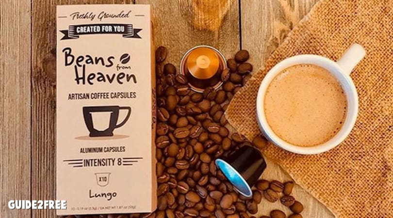FREE Beans from Heaven INTENSO Coffee Capsules