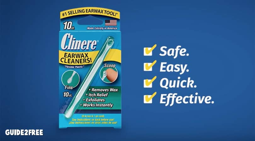 FREE Clinere Earwax Cleaner Sample