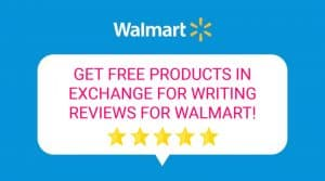 Walmart Spark Reviewer: Get FREE Products in Exchange for Writing Reviews for Walmart