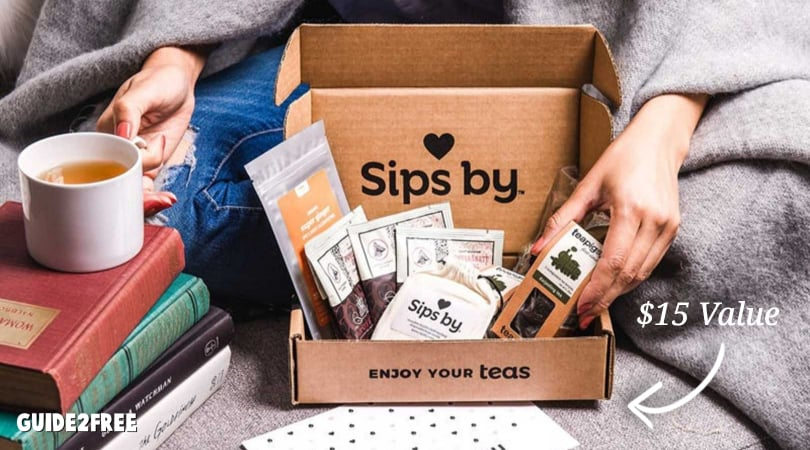 FREE Sips By Tea Discovery Box