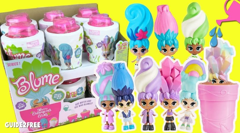FREE Blume Baby Pop Dolls