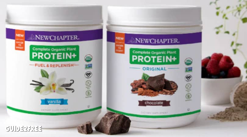 FREE New Chapter Protein Powder Samples
