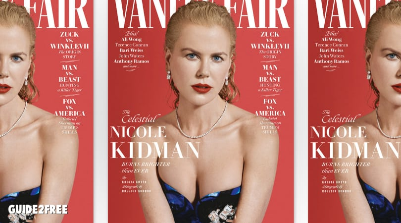 FREE Subscription to Vanity Fair Magazine