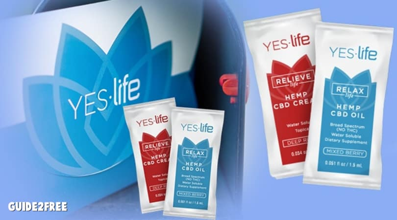 FREE Yes Life CBD Sample Pack