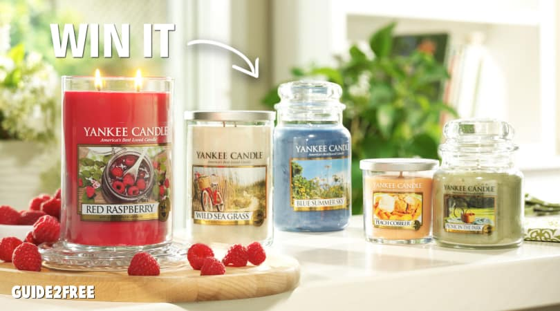 Win a $1000 Yankee Candle Shopping Spree