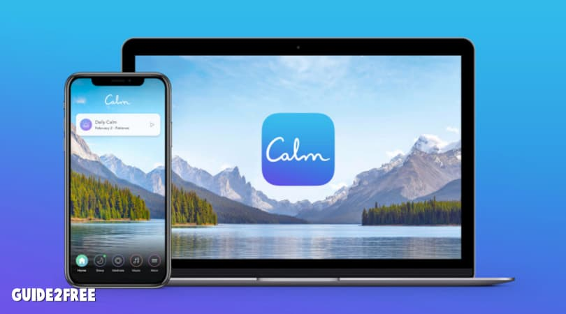FREE 1 Year Subscription to The Calm App