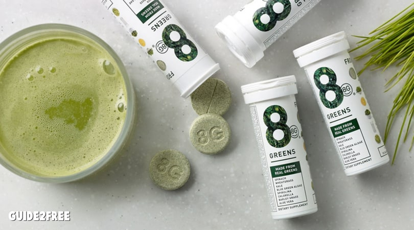 FREE 8 Greens Effervescent Tablet